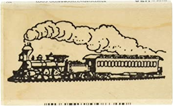 Stamps by Impression ST 0751 Steam Engine Train Rubber Stamp
