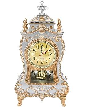 Reloj antiguo, reloj de escritorio de mesa de estilo europeo del ...
