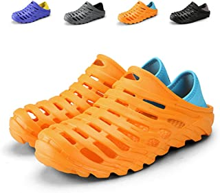 Kqpoinw Summer Unisex Garden Clogs Walking Slippers Lightweight Breathable Sandals Anti-Slip Quick Drying Beach Water Shoes