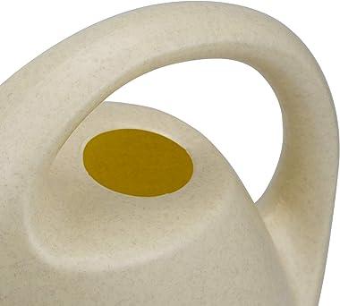 Fasmov Plastic Watering Can, 0.92 Gallon- Beige