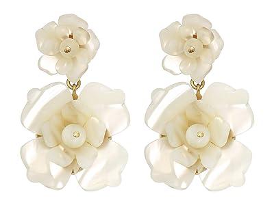 J.Crew Bloomer Acetate Earrings (Natural) Earring