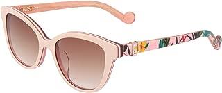 Liu Jo Cateye LJ3602S Rose Girl's Sunglasses For, Red 47 mm