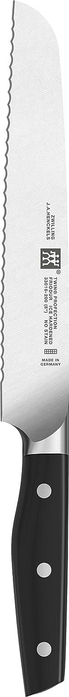 Zwilling 330162010 Twin Profection Brotmesser, Rostfreier Spezialstahl, Zwilling Zwilling Zwilling Sonderschmelze, genietet, Vollerl, Kunststoff-Schalen, 200 mm, schwarz B002DGTGJA 94c322