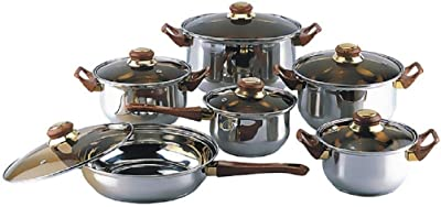 Amazon Com All Clad E849a264 Stainless Steel Cocottes 0