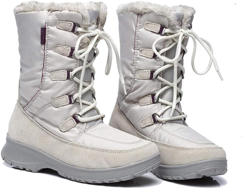 Women's Winter Snow Boots Waterproof Non-Slip Outdoor Hiking Boots