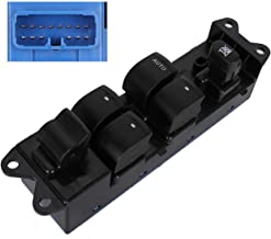 Power Window Master Control Switch for Subaru Legacy 2005, 2006, 2007, 2008, 2009 Front Left LH Driver Side 6 Botton Replaces Part 83071AG05A 83071AG05B 901-919