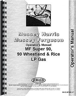 New Massey Ferguson Super 90&90WR Tractor Operators Manual
