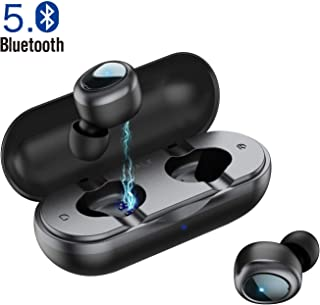 comprar comparacion iWALK Auriculares Bluetooth Deportivos Verdaderos TWS Mini Auriculares Inalámbricos Estéreo HiFi con Caja de Carga para iP...