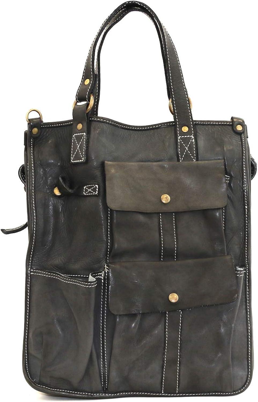 DDMilano Women's Men's Genuine Leather Shoulder business Bag