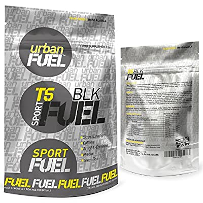 Urban Fuel T5 BLK Fat Burners | Very Strong Black Edition Unisex Slimming Pills | Diet & Weight Loss Supplement - 90 Capsules
