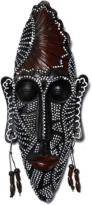 GUOCAO Decoration African Exotic Characters Wall Quantity limited Mask Re Hanging Translated