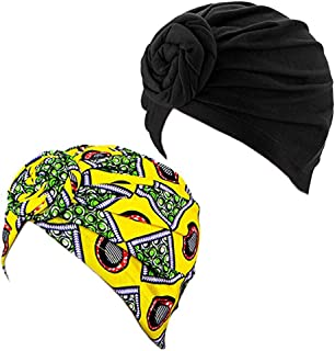 women knotted turban hat chemo cap headbands Muslim turban
