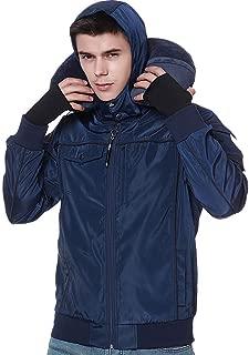 Travel Jacket Men,10 Pockets Windbreaker Flight Bomber Jacket & Coats