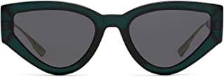 Luxury Fashion | Dior Womens CATSTYLEDIOR11ED2K Green Sunglasses | Fall Winter 19