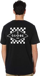 Globe Men's Check Out Mens Tee Crew Neck Short Sleeve Cotton Black