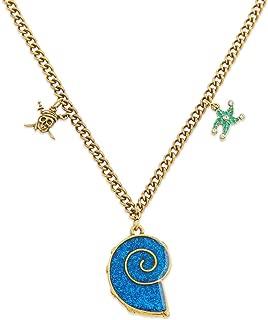 Disney Uma Necklace Descendants 3 - Girls Gold and Blue
