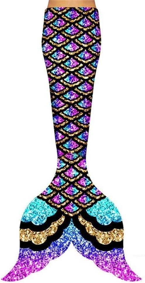HJKKLL Mermaid Tail Swimmable Bikini Set,Bikini Swimming Costume