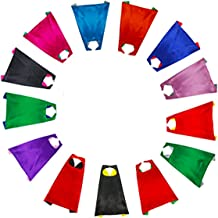 RANAVY Hero Capes and Masks Bulk Set Dress Up for Kids Superhero Party Birthday Party Costumes