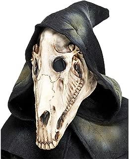 Fun World Men's Horse Skull Mask Costume, Multi, Standard