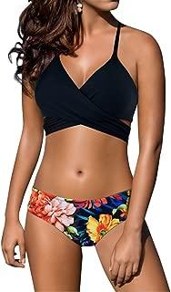 Z-Dear Women's Sexy Low Waist Bandage Bikini Beachwear Swimsuit