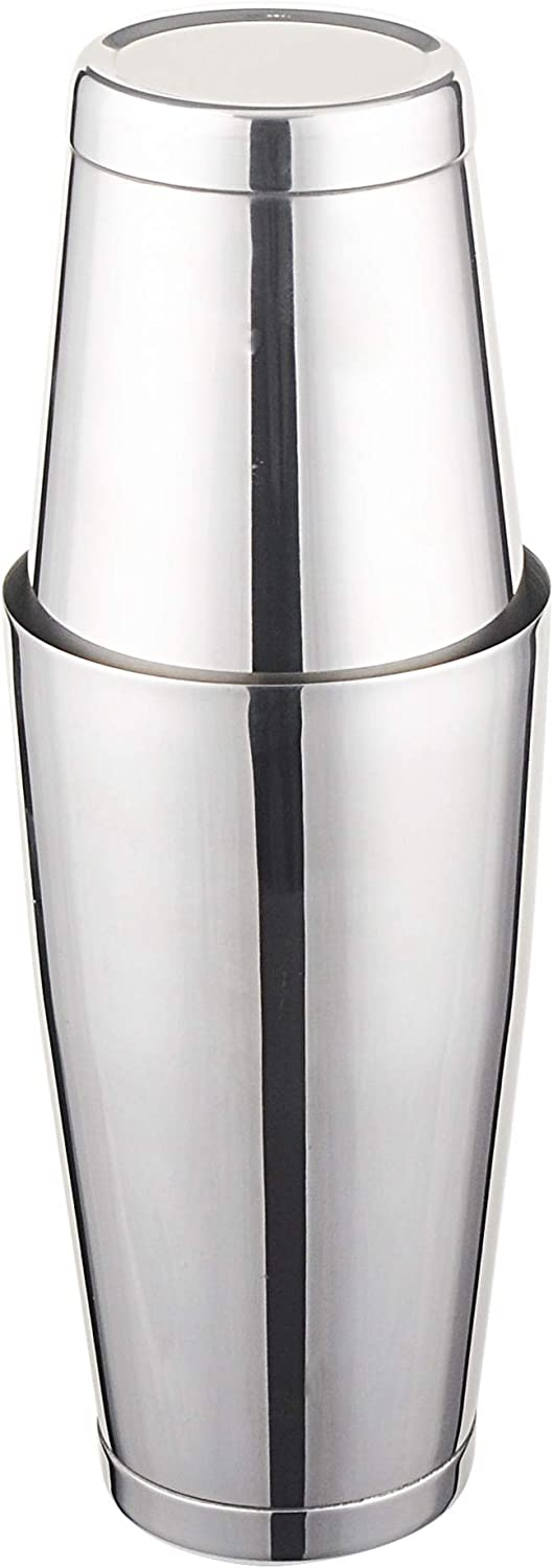 2 Piece Stainless Sale Steel Boston Max 61% OFF Cocktail Set Shaker for Bar Drink