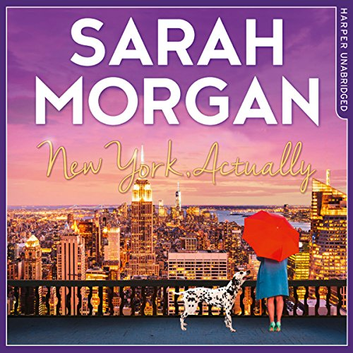 New York, Actually audiobook cover art