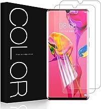 G-Color Huawei P30 Pro Protector de Pantalla, [2 Piezas][Alta Definición y Sensibilidad][Sin Burbujas] TPU, Protector de Pantalla para Huawei P30 Pro