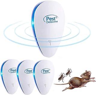 comprar comparacion Nitoer Repelente Ultrasónico de Plagas, Mosquitos ultrasónicos portátiles 100% Seguro para Personas y Animales, para Raton...
