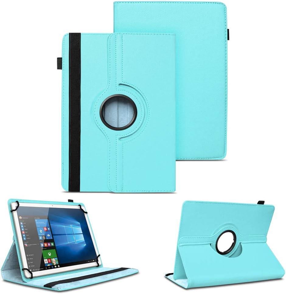 Nauc Tablet Hülle Kompatibel Für Wortmann Terra Pad 1005 Tasche Schutzhülle Cover Case 360 Drehbar Kunst