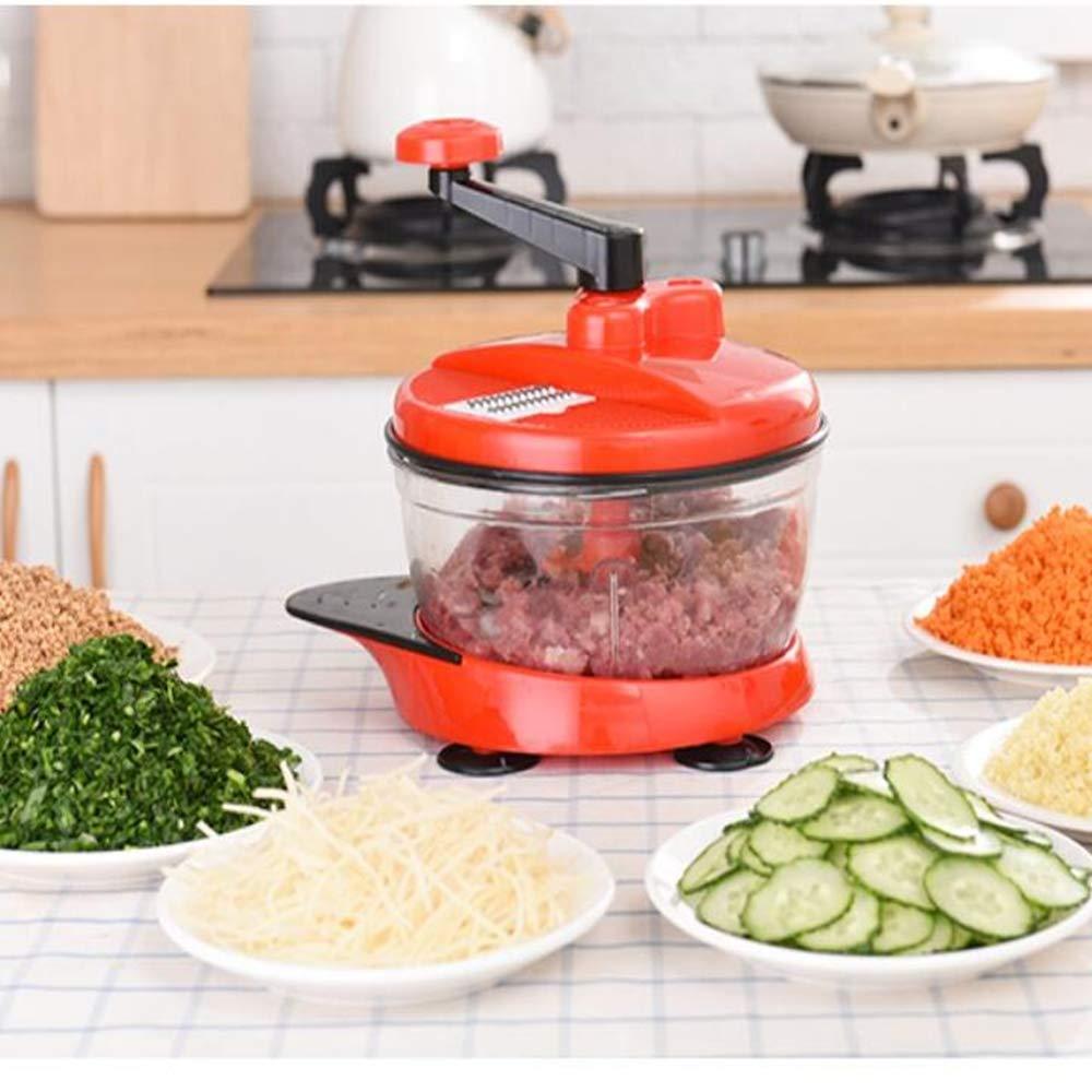 Licuadora manual multifuncional para picar verduras picadora de ...