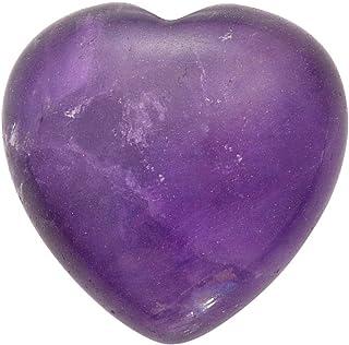 Jovivi Piedras preciosas decorativas corazón piedras naturales mezcla Healing Reiki Feng Shui mesa decorativa, 25 * 25 mm