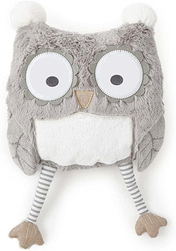 Levtex Home Baby Night Owl Pillow Taupe