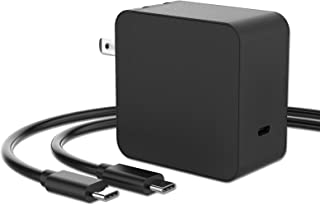 Mackertop 65W GaN USB C ラップトップアダプター充電器 HP EliteBook 840 G1 820 G1 HP Envy x360 HP Pavilion x2 HP Spectre x360 x2 Chromeboo...