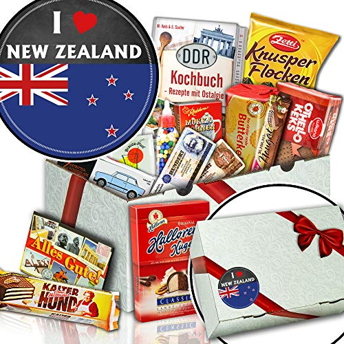 I love New Zealand - Süßigkeiten Box Schokolade - Neuseeland Geschenkpaket