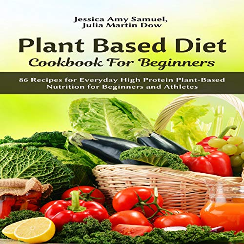 Plant Based Diet Cookbook for Beginners cover art