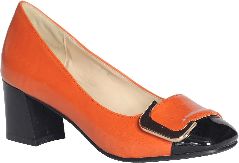 60s Shoes, Go Go Boots   1960s Shoes ANN CREEK Womens Angela Buckle Pump Heels  AT vintagedancer.com