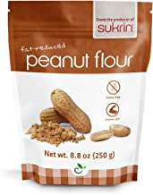 Sukrin Flour - Natural Low Carb Flour Substitute For Healthy Cooking and Baking (Peanut Flour)