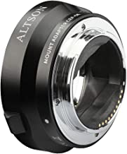Altson EF/EF-S Lens to Sony E Mount T Smart Adapter Ring Black (CEF-SE)