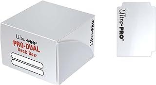 ウルトラプロ デュアルデッキボックス 大型(180枚用)/白