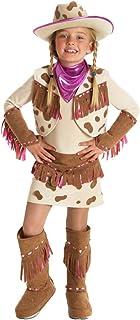 Princess Paradise Girls Big Girls' Rhinestone Cowgirl Costume, S