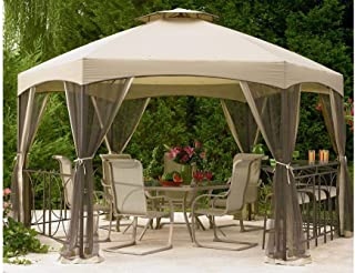 The Outdoor Patio Store Insect Mosquito Netting for Jaclyn Smith Today Dutch Harbor Gazebos