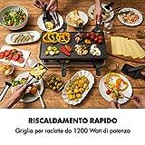 Zoom IMG-1 klarstein gourmette raclette con piastra