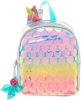 Claire's Girl's JoJo Siwa Rainbow Hearts Mini Backpack - Green