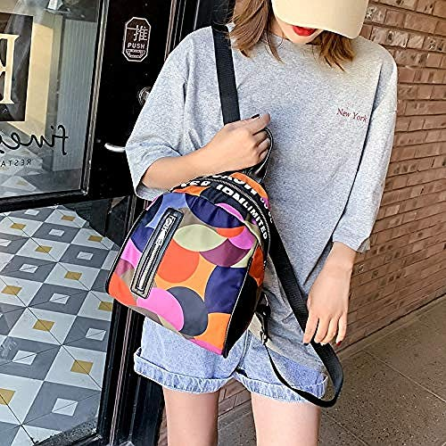 Backpack Backpack female version cloth canvas camouflage fashion casual wild lady backpack travel bag