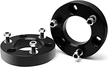 ZY WHEEL 2'' Front Leveling Lift Kit Strut Spacers Forged Aluminum for 2004-2019 Nissan Titan 2004-2015 Armada 2WD & 4WD Life Warranty