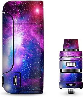 IT'S A SKIN Decal Vinyl Wrap for Vaporesso Armour Pro Cascade Tank Vape Sticker Sleeve/Stars Galaxy red Blue Purple Gasses