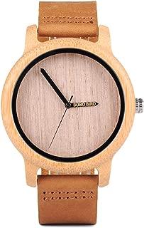 Elegante reloj de hombre fabricado en madera y metal - BOBO BIRD W-P09
