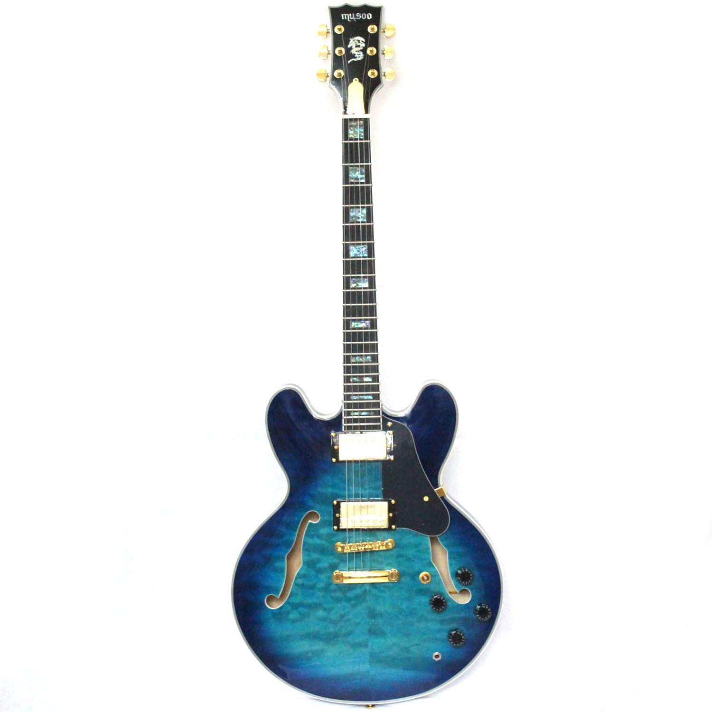 Cheap Semi-hollow body custom electric jazz guitar Black Friday & Cyber Monday 2019