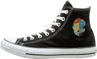 HoHo The Life Aquatic With Steve Zissou Fashion Unisex Black High-tops Canvas Shoes