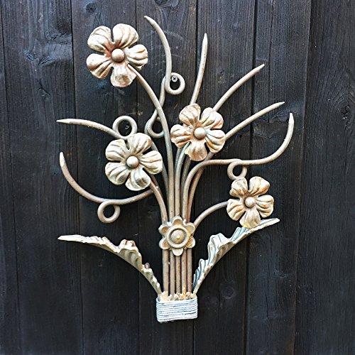 Antikas - Deko Zierornament Ziergitter Blume - Herstellung Geländer Balkon Fenster